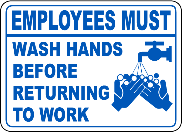 Handwash sign